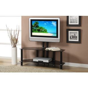 14298 TV Stand In Beveled Glass Top